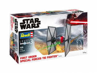 Revell maquette Star Wars 06745 Special Forces TIE Fighter 1/35