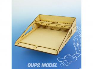 ModelCraft WTA4 Station de travail SANS tapis de découpe A4