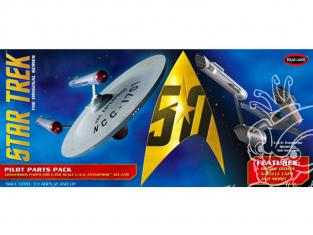 Polar Lights maquette MKA018 Star Trek TOS U.S.S. Enterprise Pilot Parts Pack