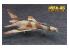"""HASEGAWA maquette avion 64772 """"Area 88"""" F-100D Super Sabre """"Micky Scymon"""" 1/72"""