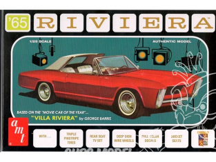 AMT maquette voiture 1121 ´65 Buick Riviera 1/25