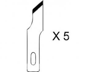 HOLI outillage 355 lot de 5 lames decale oblique pour couteau 1