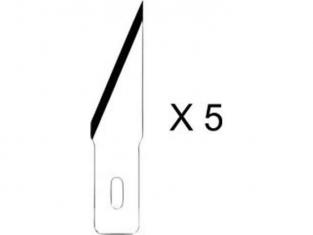 HOLI outillage 361 lot de 5 lames standard pour couteau 2