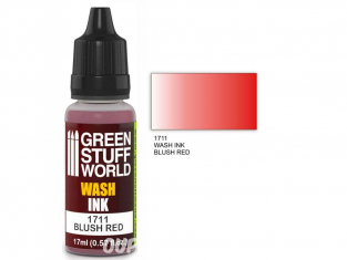 Green Stuff 1711 Encre Wash BLUSH RED 17ml