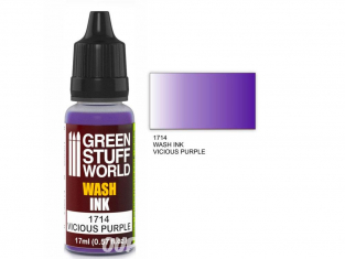 Green Stuff 1714 Encre Wash VICIOUS PURPLE 17ml