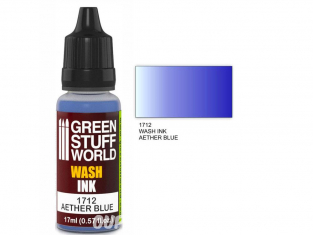 Green Stuff 1712 Encre Wash AETHER BLUE 17ml