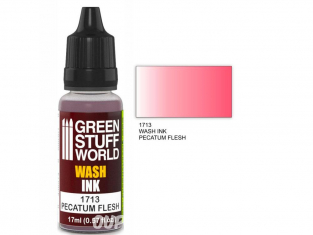 Green Stuff 1713 Encre Wash PECATUM FLESH 17ml