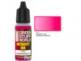 Green Stuff 1721 Encre d'Intensité CRIMSON MAGENTA 17ml