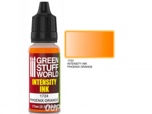 Green Stuff 1724 Encre d'Intensité PHOENIX ORANGE 17ml