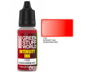 Green Stuff 1725 Encre d'Intensité SANGUINEM RED 17ml