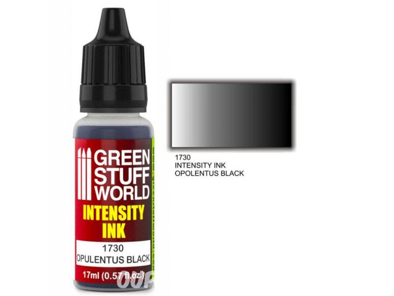 Green Stuff 1730 Encre d'Intensité OPULENTUS BLACK 17ml