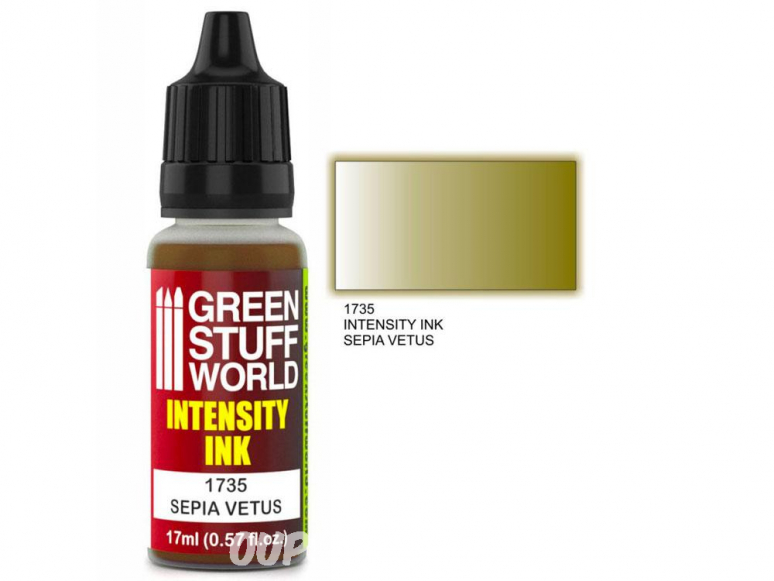 Green Stuff 1735 Encre d'Intensité SEPIA VETUS 17ml