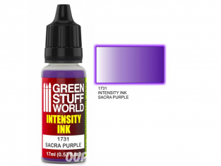 Green Stuff 1731 Encre d'Intensité SACRA PURPLE 17ml