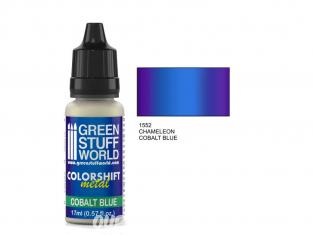 Green Stuff 1552 Caméléon COBALT BLUE 17ml