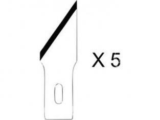 HOLI outillage 365 lot de 5 lames grosse oblique pour couteau 2