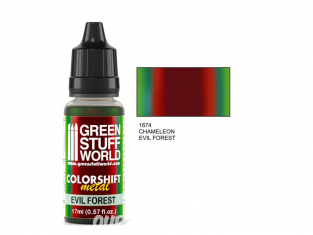 Green Stuff 1674 Caméléon EVIL FOREST 17ml