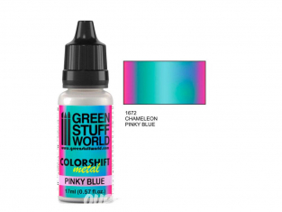 Green Stuff 1672 Caméléon PINKY BLUE 17ml