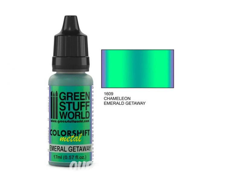 Green Stuff 1609 Caméléon EMERALD GETAWAY 17ml