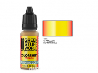 Green Stuff 1606 Caméléon BURNING GOLD 17ml