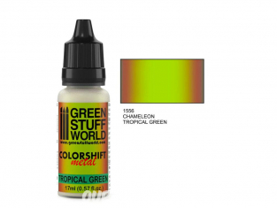 Green Stuff 1556 Caméléon TROPICAL GREEN 17ml