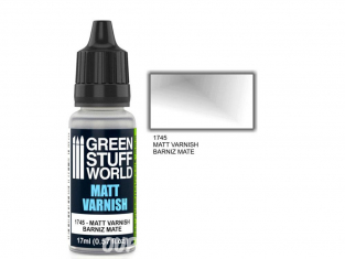 Green Stuff 501049 Vernis Mat 17ml