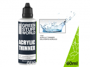 Green Stuff 501063 Diluant Acrylique 60 ml