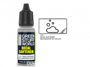 Green Stuff 501100 Adoucisseur de decalques 17ml