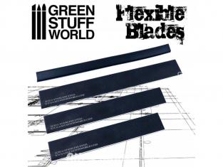 Green Stuff 362110 Set Lames flexibles avec poignée