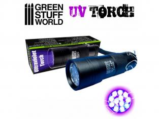 Green Stuff 502688 Lampe de Poche Ultraviolette