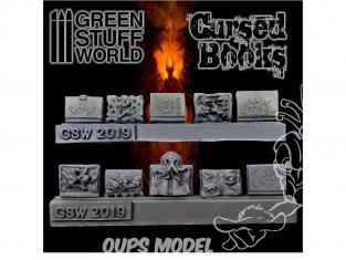 Green Stuff 503722 Livres Monstrueux en Résine