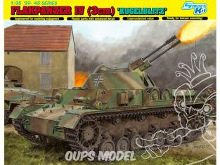Dragon maquette militaire 6889 Flakpanzer IV (3cm) 'Kugelblitz' (Smart Kit) 1/35