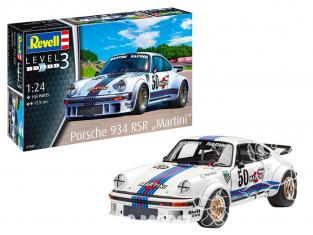 """Revell maquette voiture 07685 Porsche 934 RSR """"Martini""""  1/24"""
