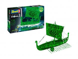 revell maquette bateau 05428 Bateau fantôme viking brillent dans le noir 1/50