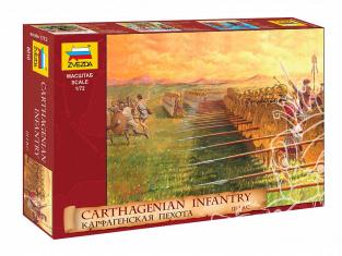Zvezda maquette figurines 8010 Infanterie Carthagenoise 1/72