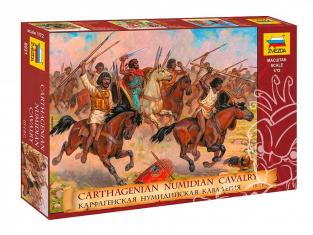 Zvezda maquette figurines 8031 Cavalerie Numide Carthagenoise 1/72