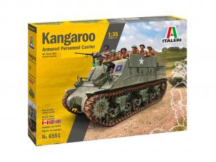 Italeri maquette miltaire 6551 KANGAROO 1/35