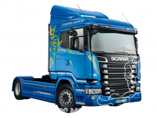 Italeri maquette camion 3947 SCANIA R400 STREAMLINE Flat Roof 1/24