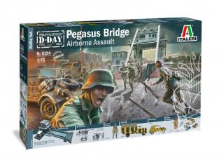 Italeri maquette 6194 PEGASUS BRIDGE D.Day 75°Ann.1944-2019 BATTLE SET 1/72