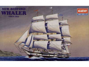 Academy maquette bateau 14204 NEW BEDFORD WHALER 1/200