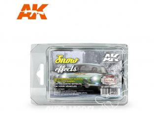 Ak Interactive Set Weathering AK8091 Set rallye - Effets Neige 3 x 35ml