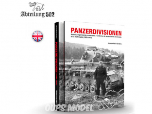 ABTEILUNG502 livre 718 Panzerdivisonen en Anglais par Ricardo Recio Cardona