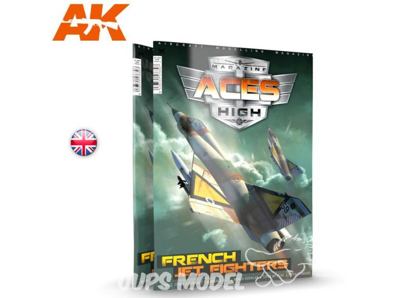 Ak interactive Magazine Aces High AK2931 N°15 Chasseurs à réactions Français En Anglais