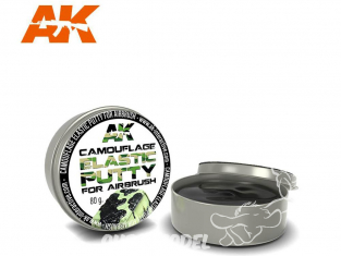 AK interactive ak8076 Camouflage Elastic Masking Putty 80g