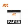 Ak interactive AK8074 Papier (40 unités) pour palette humide