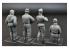 Mini Art maquette militaire 35280 EQUIPAGE DE CHAR ALLEMAND KHARKOV 1943 1/35