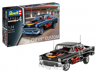 Revell maquette voiture 07663 '56 Chevy Customs 1/24
