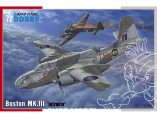 Special Hobby maquette avion 72398 Boston MK. III Intruder 1/72