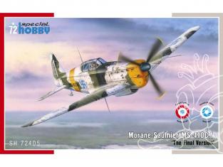 Special Hobby maquette avion 72405 MORANE SAULNIER MS-410C.1 FRANCE et FINLANDE 1940/1942 1/72
