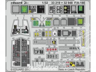 Eduard photodécoupe avion 32948 Intérieur F/A-18E Revell 1/32