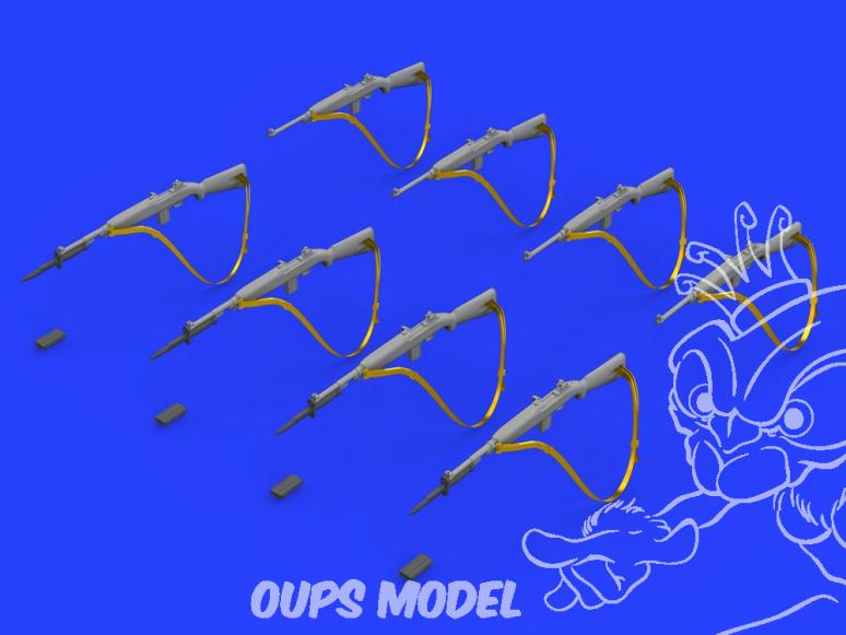 EDUARD Brassin super detaillage 635014 Carabine M1 1/35